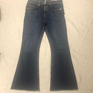 Rag & Bone Capri Jeans high waist